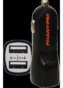 Зарядка USB 2 гнезда для телефона и планшета