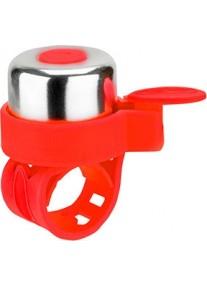 Звонок на беговел-велосипед-самокат JETCAT Red (на резинке)