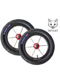 """Колеса 2 штуки !!! с царапинами !!! ДИСКОНТ 12"""" (воздушные) - JETCAT Wheels Sport - Для Беговела Strider-Puky-Jetcat Sport"""