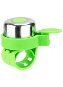 Звонок на беговел-велосипед-самокат JETCAT Green (на резинке)