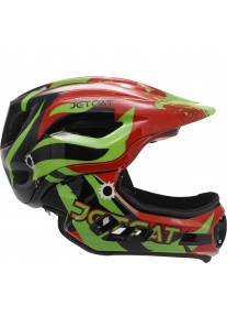 Шлем FullFace - Raptor SE (Red-Black-Green) -  JetCat