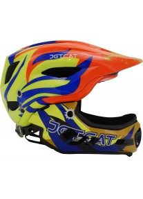 Шлем FullFace - Raptor SE (orange/yellow/blue) -  JetCat