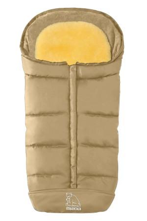 Зимний Конверт из овчины Heitmann Felle - Comfort 2-in-1 - Beige бежевый - 7975 BE (Хэйтмен филе комфорт 2 в 1)