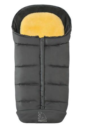 Зимний Конверт из овчины Heitmann Felle - Comfort 2-in-1 - Grey серый 7975GR (Хэйтмен филе комфорт 2 в 1)