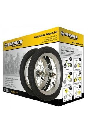 Комплект (2шт.)  пневматических колёс (12 х 1,75) для Беговела Strider ST-4 и Harley-Davidson