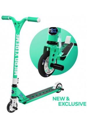 Самокат Micro Freestyle Scooter MX Trixx 2.0 Menthol (SA0185) Ментол   стальной для трюков
