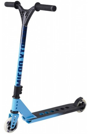 Самокат Micro Freestyle Scooter MX Trixx Black-Blue (SA0108) стальной для трюков черно-синий
