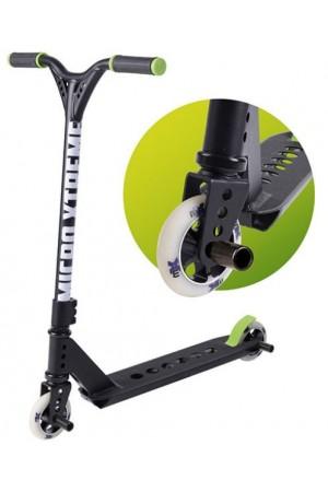 Самокат Micro Freestyle Scooter MX Trixx Black (SA0104) стальной для трюков чёрный