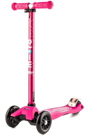 Самокат Micro Maxi Deluxe Pink T (MMD021) пинк - розовый