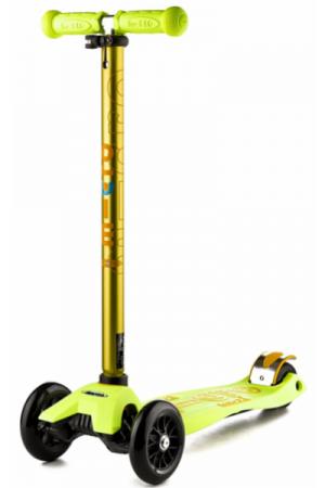 Самокат Micro Maxi Deluxe Yellow T (MMD024) желтый