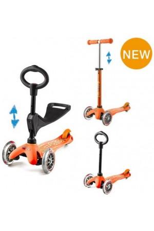 Самокат Micro Mini Micro 3 in1 Delux Orange (MMD016) Оранжевый