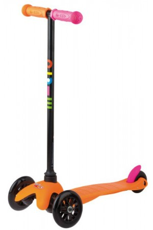 Самокат Micro Mini Micro Neon Orange Sporty (MM0055) Разные Ручки Германия