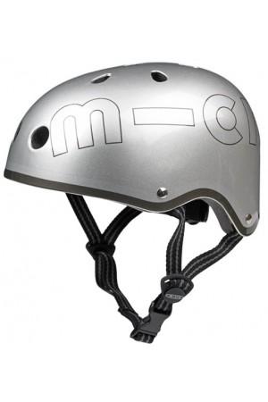 Шлем защитный Micro (металлик) Silver