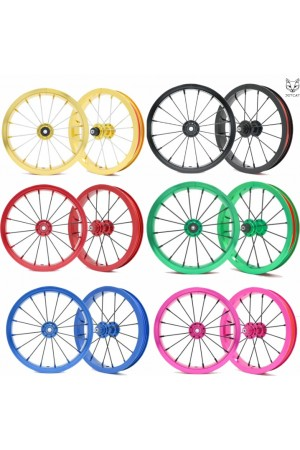 "Колеса 2 штуки 12"" (без покрышек) - JETCAT Wheels Pro V2 - Для Беговела Cruzee-Strider-Kokua-Puky-Early Rider-Jetcat-Bike8"