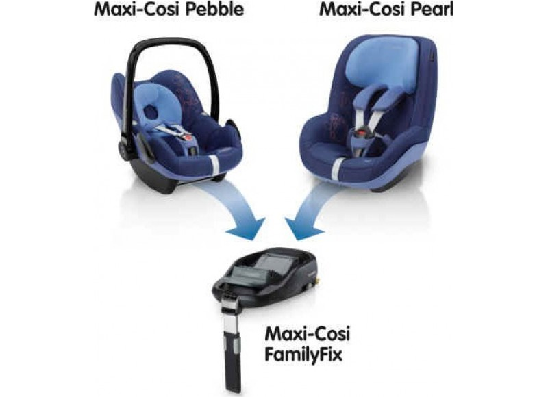 maxi cosi familyfix isofix cabrio fix pebble. Black Bedroom Furniture Sets. Home Design Ideas